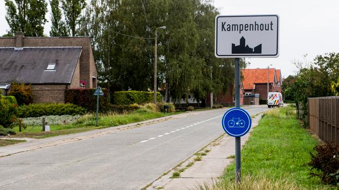 Violent incendie dans une société de traitement de déchets à Kampenhout
