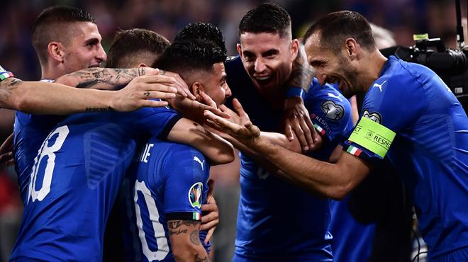 Qualifications Euro 2020: l'Italie arrache la victoire face à la Bosnie, l'Allemagne explose l'Estonie (vidéo)