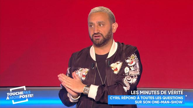 Cyril Hanouna prépare un one-man-show: il dévoile son projet dans Touche pas à mon poste