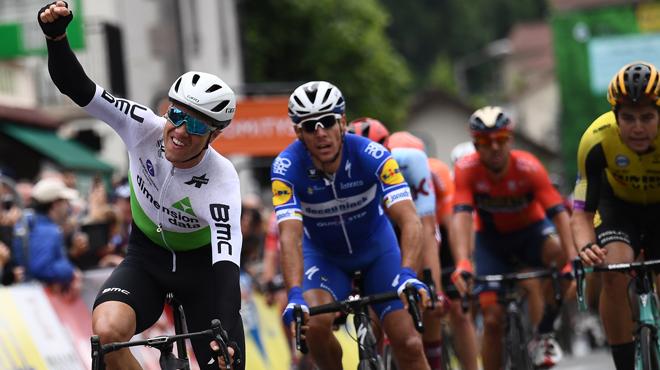 Critérium du Dauphiné: Wout van Aert enlève le chrono de Roanne