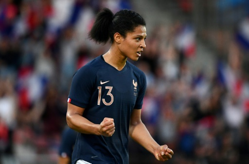 Mondial-2019: Valérie Gauvin titulaire avec les Bleues contre la Norvège