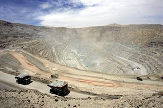 Chili- grève dans la mine de cuivre géante de Codelco à Chuquicamata