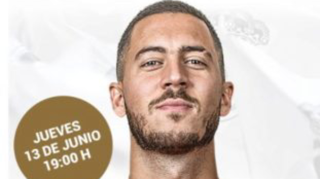 L'appel du Real Madrid aux supporters pour venir accueillir Eden Hazard (photo)