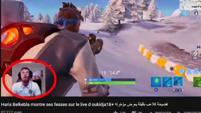 Il montre ses fesses sur YouTube... et se fait écarter de la sélection algérienne (vidéo)