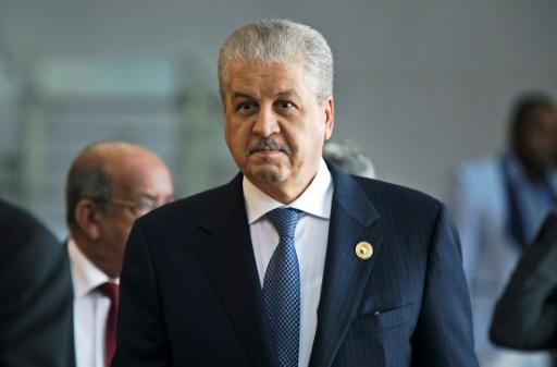 Algérie: l'ex-Premier ministre Sellal, proche de Bouteflika, écroué