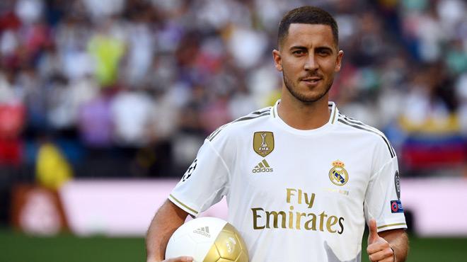 Vacances, reprise, tournois: voici ce qui attend Eden Hazard au Real Madrid