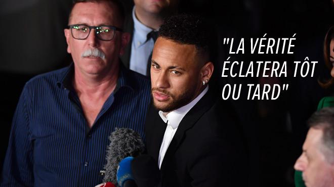 Neymar, accusé de viol, a été entendu 5h par la police brésilienne