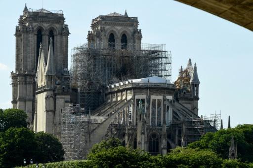 Notre Dame: 9% des dons ont été versés, deux mois après l'incendie