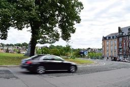 D'importants embarras de circulation attendus autour du rond-point Léopold à Namur