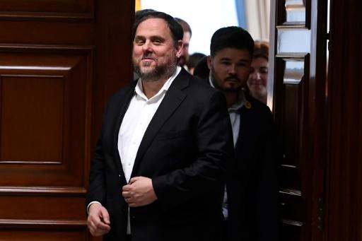 L'indépendantiste catalan Oriol Junqueras ne pourra pas prendre ses fonctions d'eurodéputé