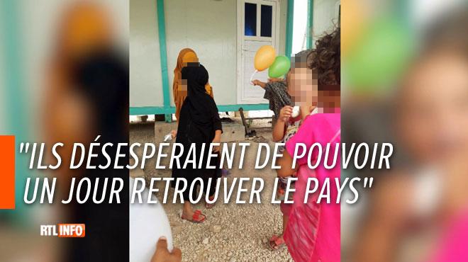 Six enfants belges de djihadistes partis en Syrie sont de retour en Belgique: