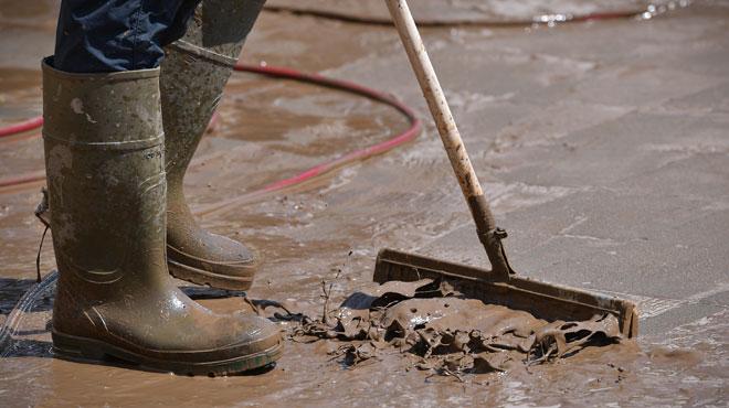 Les intempéries ont causé quelques inondations dans le Brabant wallon