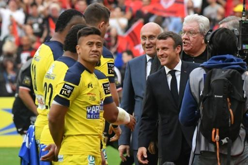 Finale du Top 14: Macron, Laporte et Goze hués au Stade de France