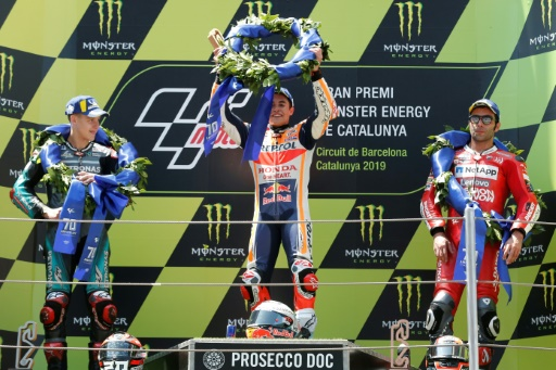 GP moto de Catalogne: Marquez gagne en solitaire, ses adversaires à terre