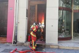 Quelque 250 pompiers manifestent de manière spontanée dans le centre de Bruxelles