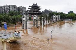 Les inondations en Chine ont déjà fait 88 morts