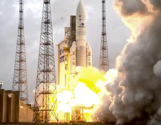 Ariane 5 lancera jeudi deux satellites de télécommunications