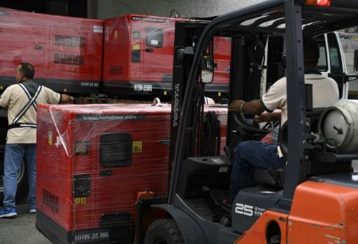 Arrivée au Venezuela d'une deuxième cargaison d'aide de la Croix-Rouge