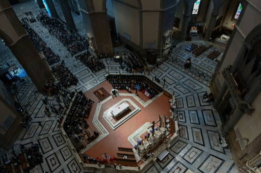 Obsèques du cinéaste italien Franco Zeffirelli