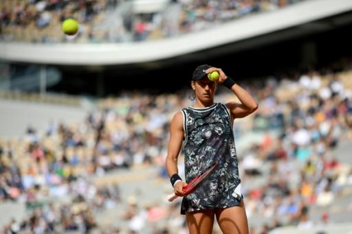 WTA: Caroline Garcia souffre mais gagne à Majorque