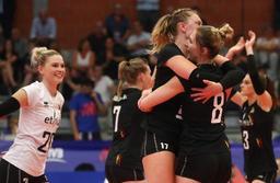Ligue des Nations de volley (d) - Septième victoire pour les Yellow Tigers, victorieuses de la Turquie