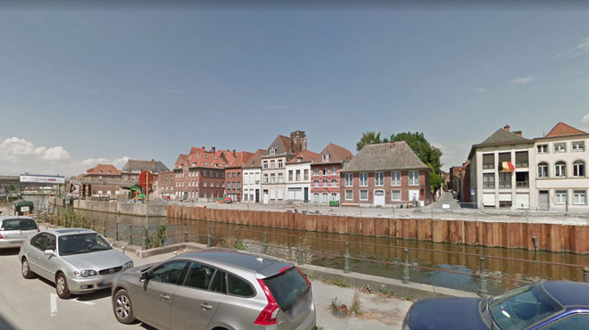 Tournai: un policier porte secours à un couple qui a plongé dans l'Escaut