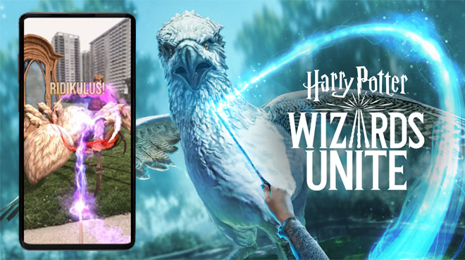 Wizard Unite sortira le 21 juin — Harry Potter