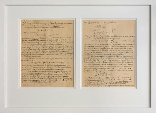 Un mécène offre au Musée Nobel le premier texte d'Einstein publié après son prix