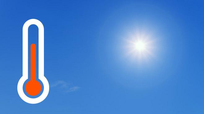 Prévisions météo: l'été s'installe, le thermomètre s'emballe!