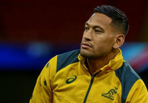 Rugby: une cagnotte pour aider Folau limogé pour propos homophobes