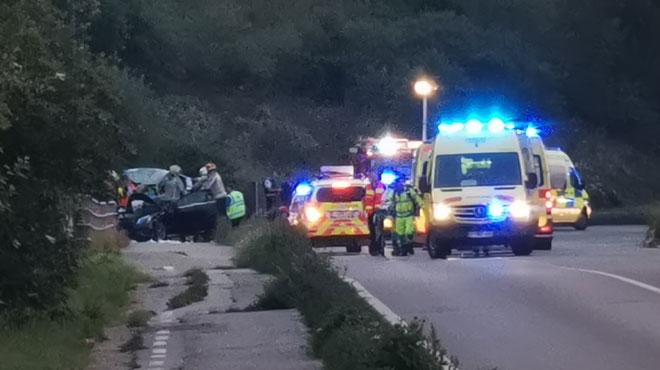 Grave accident à Marchienne-au-Pont: Soumia, l'une des 6 personnes à bord, est sortie du coma,