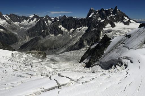 Atterrir sur le Mont-Blanc: au pire, une contravention de 38 euros