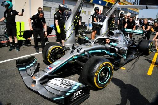F1: Les Mercedes devant aux 1ers essais libres du GP de France