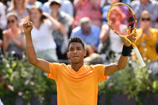 Tennis: Auger-Aliassime, précoce en demies au Queen's