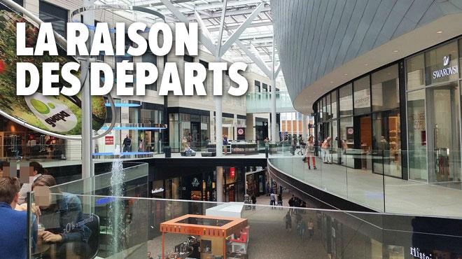 Plusieurs enseignes vont quitter le Docks à Bruxelles: un genre de magasins est surtout concerné