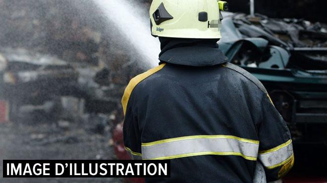 Un incendie ravage une maison à Mouscron: le bâtiment est inhabitable