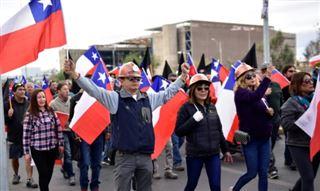 Chili- poursuite de la grève dans une mine de cuivre géante