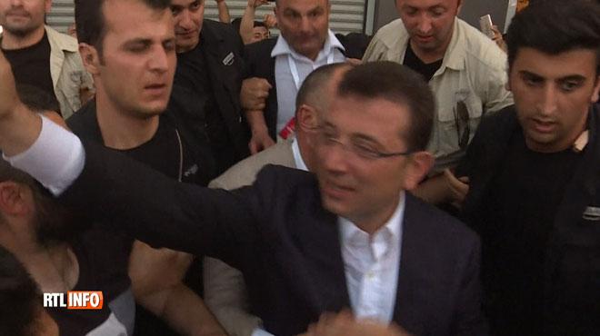 Nuit de liesse à Istanbul après la victoire de l'opposition