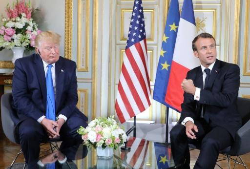 Macron: Trump