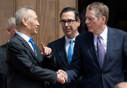 Commerce: entretien téléphonique entre négociateurs avant la rencontre Xi-Trump