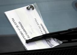 Un jeune conducteur sur 3 a reçu au moins un PV l'an dernier en Wallonie et à Bruxelles