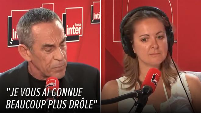 Tension dans le studio de France Inter: la réponse CINGLANTE de Thierry Ardisson à Charline Vanhoenacker (vidéo)