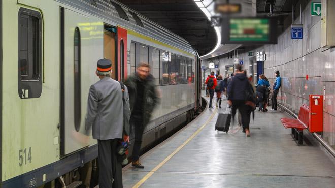 Le trafic des trains de retour à la normale