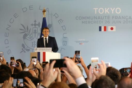 Macron à Tokyo:
