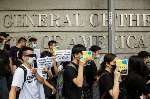 Hong Kong: les manifestants appellent le G20 à demander des comptes à Pékin