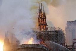 Incendie à Notre-Dame de Paris: