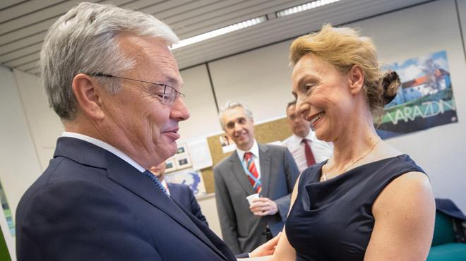 Didier Reynders passe à côté du poste de secrétaire général du Conseil de l'Europe: c'est une ministre croate qui l'emporte