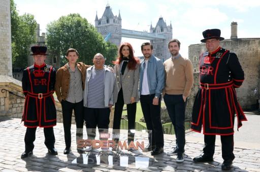 De Venise à Londres, le nouveau Spider-Man en voyage d'études en Europe