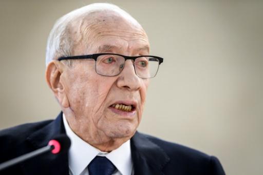 Tunisie: le président Essebsi en état
