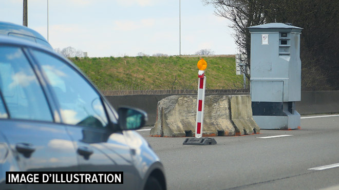 Résultats d'une opération Lidar dans le Borinage: voici le record de vitesse dans une zone 50